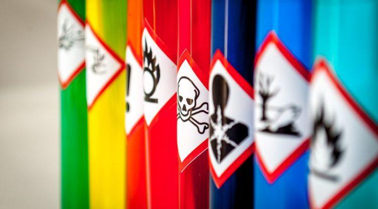 Nieuwe gevaarsymbolen op alle chemische producten