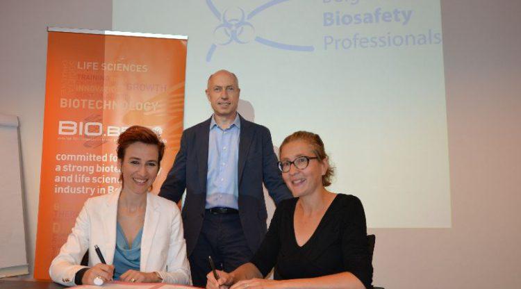 bio.be/essenscia en de Belgian Biosafety Professionals slaan handen in elkaar voor veilige werkomstandigheden