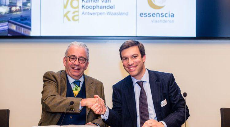 essenscia vlaanderen en Voka – Kamer van Koophandel Antwerpen-Waasland versterken samenwerking