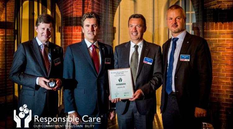 essenscia remporte le prix européen 'Responsible Care Award'