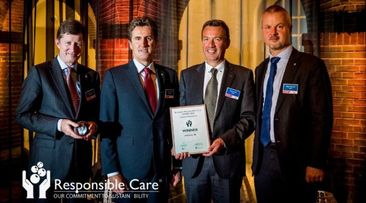 essenscia wint Europese 'Responsible Care Award'