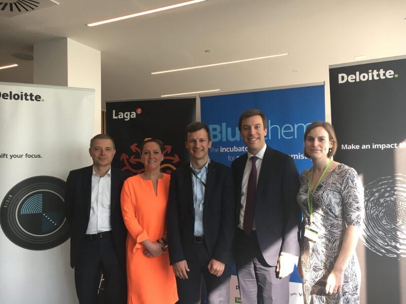 Chemie-incubator BlueChem sluit partnerakkoorden