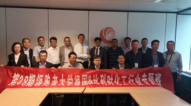 essenscia ontvangt Chinese delegatie uit Taixing