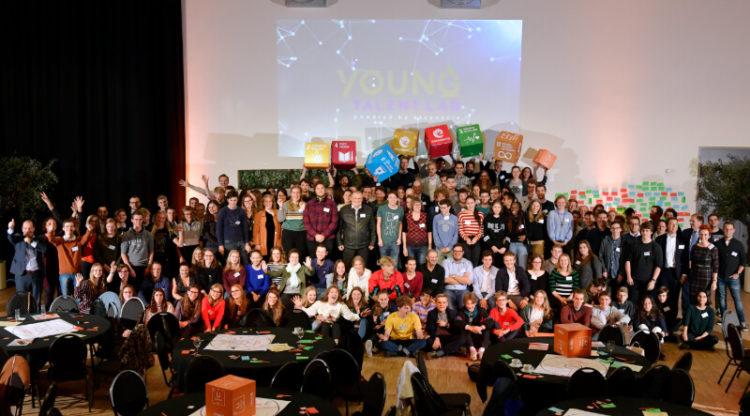 Young Talent Lab: meer dan 100 jongeren in dialoog met managers uit chemie- en farmasector over klimaat en jobs van de toekomst