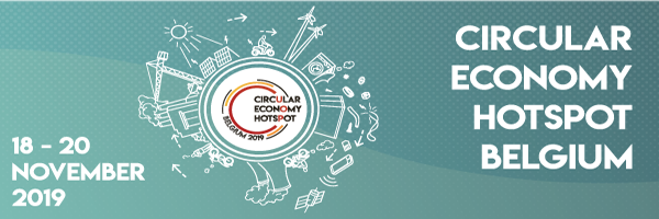 Still time to register (free) for the Circular Economy Hotspot Belgium from 18 till 20th of November