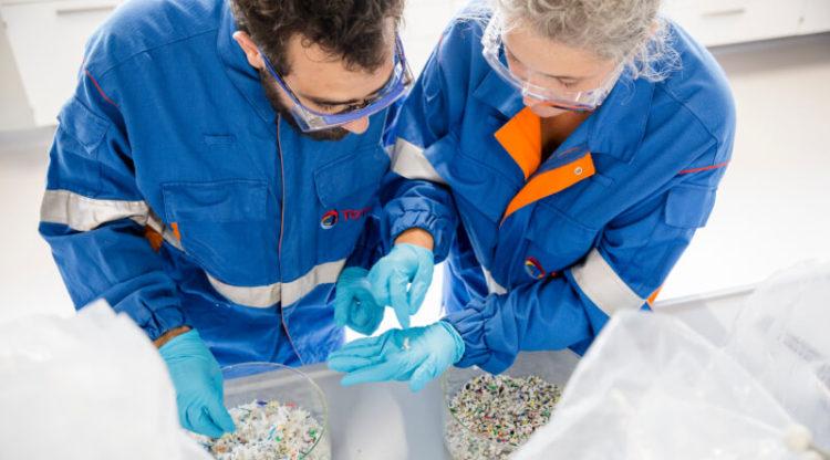 Total Raffinage Chimie: quand le plastique redevient plastique