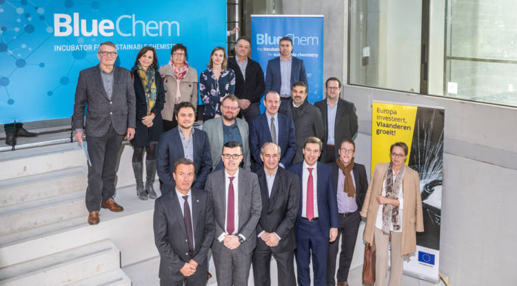 BlueChem neemt vliegende start: incubator voor duurzame chemie sluit contracten met eerste huurders en partnerbedrijven