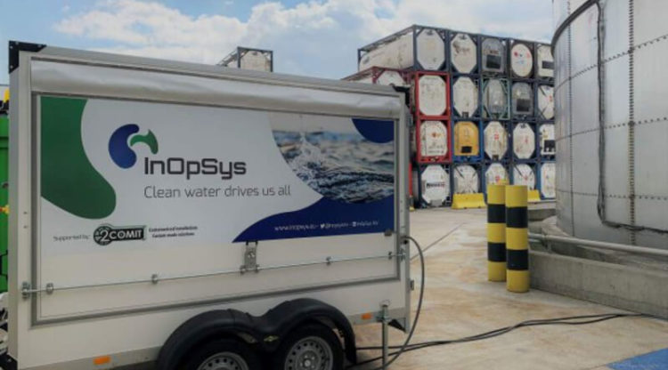 Plant-On-A-Truck: circulaire afvalwaterzuivering loopt op wieltjes
