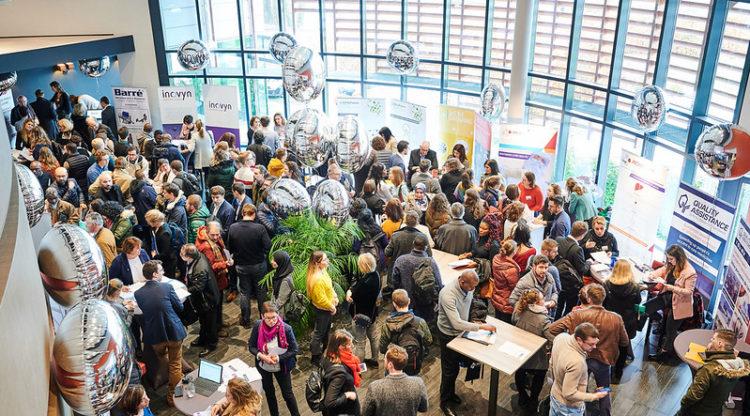 400 personnes au salon présentiel des Jobdays Chimie, Pharma & Biotech