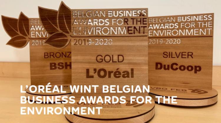 L'Oréal Libramont wint Belgische milieuprijs met waterbesparende fabriek