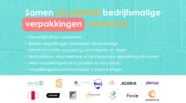 Belgische industrie lanceert actieplan voor meer circulair gebruik van bedrijfsverpakkingen