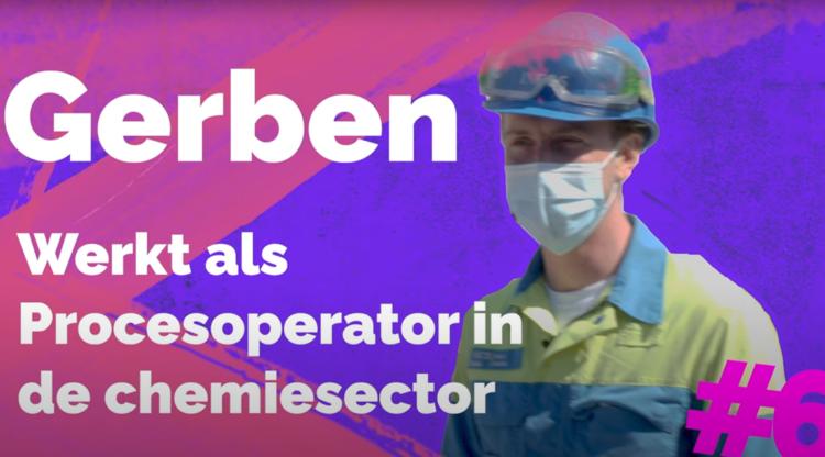 Van journalist in spe tot procesoperator in chemie: nieuwe videoreeks zet jong STEM-talent in de kijker